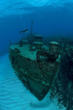 Want to dive this wreck? You can! For more information visit our website www.islandtourcentre.com!