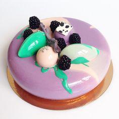 """""""Blackberry cheesecake""""/ Ежевичный чизкейк в растительном облике) всем привет"""