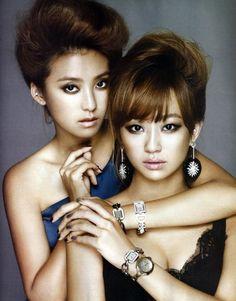 SISTAR's Bora and Hyorin Get Reaaalllll Close for W Magazine | American K-Pop Fans