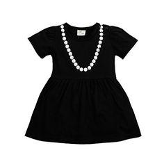 Bebone Girl Baby Infat Solid Paillette Necklace Dress Romper Outfits (18-24M, Black) Bebone http://www.amazon.com/dp/B00Z5UJWK4/ref=cm_sw_r_pi_dp_PnV4wb1C1TRKQ