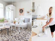 Få stilen til Ann Helen Lund  Pastel Decor, Office Desk, Dining Table, Lund, Furniture, Home Decor, Scandinavian, Home, Coffee Tables