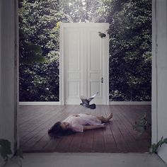 bedroom for curious souls by brookeshaden, via Flickr