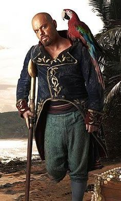 Eddie Izzard as Long John Silver