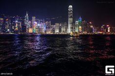 #night #city #sea #light #mood