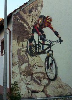 Wandmalerei Saarland, airbrush mural