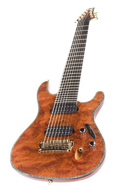 Ibanez Iron Label s Series 8 String Guitar SIX28FDBGNT Bubinga Top ...