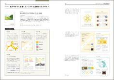 企業アピールのためのレイアウト 会社案内・入社案内・アニュアルレポート…理念を可視化するCI・IRツール実例集 のページサンプル