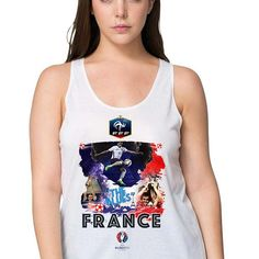 #vest #tanktop #women #EUFA #EUFA16 #PES #Football #Sports #Championship #European #Season2016  #Euro2016 #FRANCE #TheBlues #KarimBenzema #ThierryHenry #LilianThuram