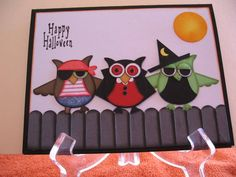 Goblins on the fence by graffiti - Cards and Paper Crafts at Splitcoaststampers