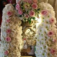 House Of Gold, Little Prayer, Byzantine Icons, Orthodox Icons, Perfect Woman, Faith In God, Holidays And Events, Holy Spirit, White Flowers