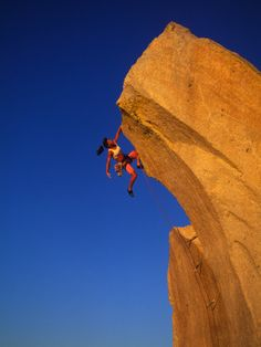 Female Rock Climber Photographic Print by Greg Epperson at AllPosters.com