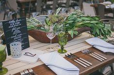 Organic green florals. Industrial garden birthday party 50th. Lush garden meets industrial warehouse vibe. Edyta Szyszlo Photography. Venue: Pier 48 San Francisco, California.