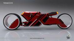 Motorcycle: Trimove - Futuristic Concept