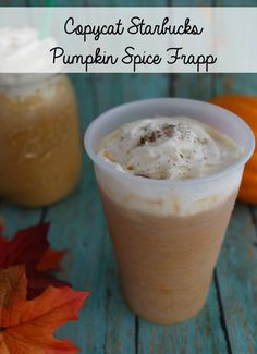 This Copycat Starbucks Pumpkin Spice Frapp recipe can save you quite a bit of money when you make at home this fall. Plus, you can have it anytime you want – no need to wait for pumpkin season!