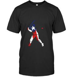 Baseball Tees - FUZTee Puerto Rican Flag, Baseball Tees, Puerto Ricans, Classic, Mens Tops, Derby, Baseball T Shirts, Puerto Rico, Classic Books