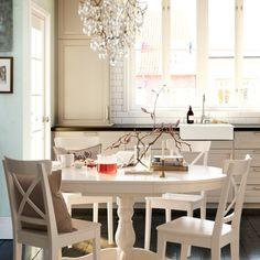 Círculo de amigos (e de sabores). #mesas #decoração #IKEAPortugal