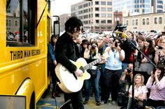 Jack White @ Third Man Records