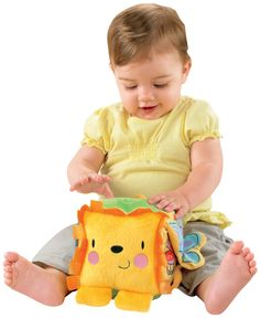 Fisher-Price Discover 'n Grow Lion Activity Block