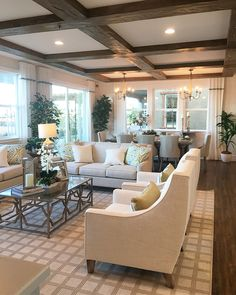 Leasing Office, New Living Room, Living Room Decor, Living Spaces, Model  Homes