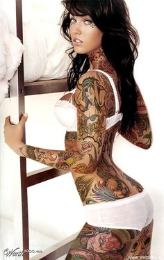 Incredible tatoos on incredible bodies..