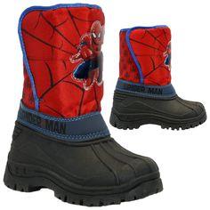 Kids boys spiderman #winter snow moon #mucker waterproof #wellington wellies boot,  View more on the LINK: http://www.zeppy.io/product/gb/2/390710411542/