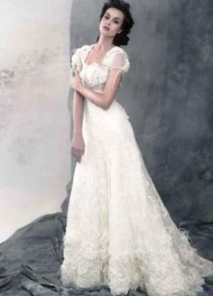 Свадебное платье с рукавами фонариками - http://1svadebnoeplate.ru/svadebnoe-plate-s-rukavami-fonarikami-3706/ #свадьба #платье #свадебноеплатье #торжество #невеста