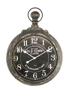 Relógio Bolso Old Town