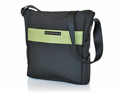 The VertiGo bag from  WaterField Designs—Lightweight Champion. Vertical positioning helps lighten your load. Ideal for zipping around town or traveling to foreign lands. Works great with small and medium size laptops too! Includes Shoulder Pad.    Available here:  http://www.sfbags.com/products/vertigo/vertigo.htm    All WaterField Designs products are made to exacting standards entirely in San Francisco, CA, USA. We wouldn't go anywhere else!