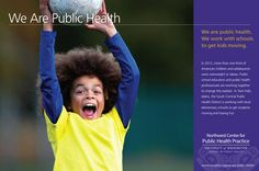 Getting kids moving through collaboration between educators and public health professionals. #publichealth