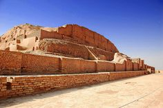 Choqa Zanbil (Iran). 'Even if you don't like ancient ruins, the great bulk, semi-desert isolation and fascinating back story make the Choqa Zanbil ziggurat one of the most impressive historical sites in a region full of them. Built by the Elamites in the 13th century BC, it was 'lost' under the sands in the 7th century BC and only rediscovered during a 1935 aerial survey by a British oil company.' http://www.lonelyplanet.com/iran/sights/monument/choqa-zanbil