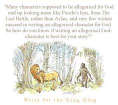 Writing Christian Fiction, Should I have an Allegorical God
