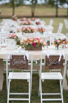adorable chair signs | Katherine Stinnett Photography: http://www.katherinestinnett.com