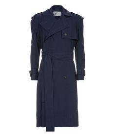 Gabelle Trench Coat Navy