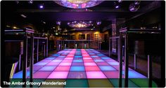 Do you have a desire to be John Travolta from the Saturday Night Fever? Get your dancing shoes on and try this amazing dance floor. Once a month they organise a swing club night - fun!
