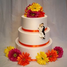 Wedding cake - like the cake but would want the bride and groom on the top.
