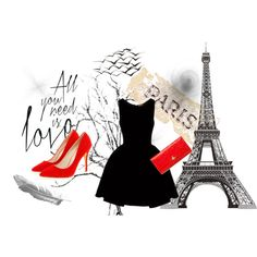 """Paris Godies"" by alexandrabeejenkins on Polyvore"