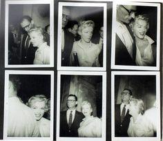 Marilyn Monroe and Arthur Miller Candid photos, 1956