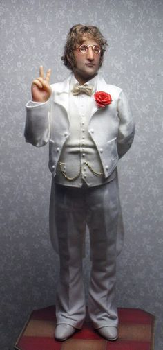 Sharon Cariola John Lennon Doll.
