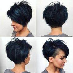 Latest Short Bob And Pixie Haircuts For Women 2019 - Latest Short Bob And Pixie Haircuts For Women 2019 - . Latest Short Bob And Pixie Haircuts For Women 2019 - . Latest Short Haircuts, Short Pixie Haircuts, Short Hairstyles For Women, Pixie Haircut Styles, Pixie Bob Hairstyles, Pixie Bob Haircut, Hairstyles Haircuts, Short Undercut Hairstyles, Short Hair With Undercut