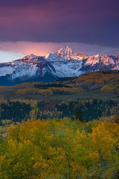 Wilson Peak, San Juan Mountains, Colorado; photo by VisitTelluride.com