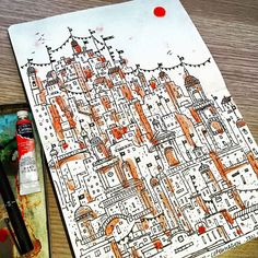 An ongoing collection of my sketchbook ramblings, updated over the year Cool Sketches, Drawing Sketches, Sketch Painting, Drawings, Sketching, Sketchbook Pages, Finger Painting, Line Art, Doodles