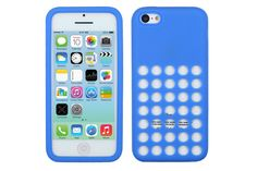Perforated Pattern Soft Silicone Rubber Protective Cases for iPhone Iphone 5c Cases, Silicone Rubber, New Iphone, Protective Cases, Tech, Pattern, Technology, Patterns, Tecnologia