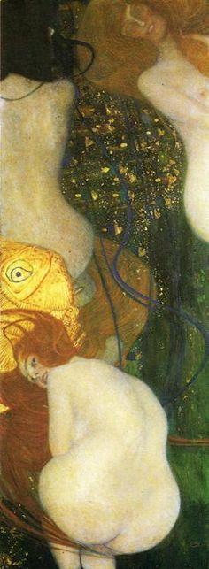 Goldfish - Gustav Klimt (1862-1918)