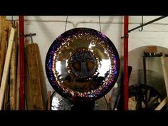 Magnificante Tree of Life 36'' Art Gong - YouTube