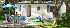 Stacaravan Fiji / mobilhome op een camping - Vacansoleil