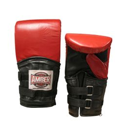 Power Weighted Super Bag Gloves: Bag Gloves are used to protect the boxer hands. Boxing shoes, handwraps and gauze, mouth guards, etc..are used to protect the boxer to purchase these equipments visit proboxinggear.com