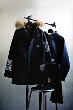 mastermind JAPAN x Carhartt, FW'12 Capsule Collection.