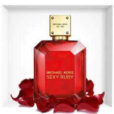 A jewel of a fragrance inspired by Michael's unique interpretation of sensuality, strength and glamour. Boldly luxurious, brilliantly faceted, and mesmerizing to encounter. Fashion House Michael Kors introduces a new fragrance – Sexy Ruby. #michaelkors #perfume #fragrance