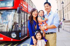 Family outdoor summer photo shoot London Big Ben Westminster kids style fashion