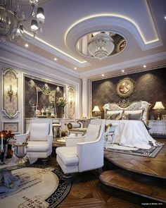 Now that's a REGAL master bedroom